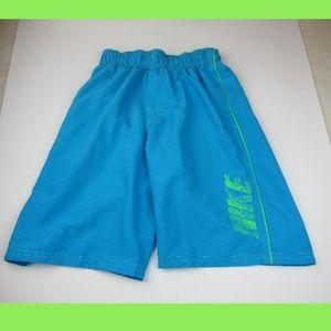 Nike Boys Medium Blue Volley Swim Trunks